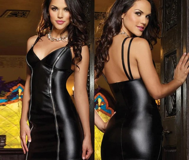 Product Image 2018 New Sexy Lingerie Catsuit Spandex Latex Erotic Pole Costume Plus Size Erotic Maxi Dress Women
