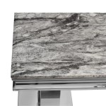 Grey Marble Top Console Table Bonnypack