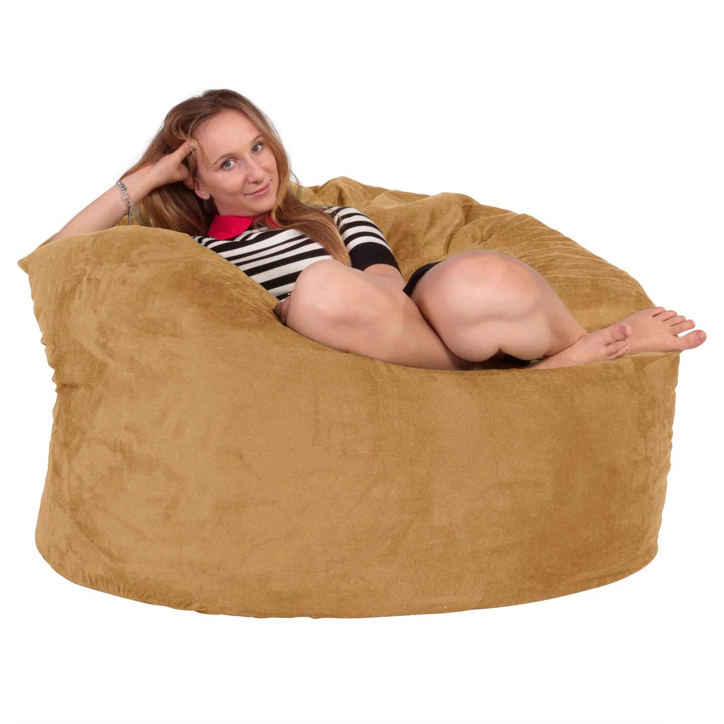 Foam Bean Bag Chair Giant Memory Foam Bean Bag Chair Large For Adult Beanbag