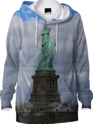 Statue of Liberty NYC Hoodie