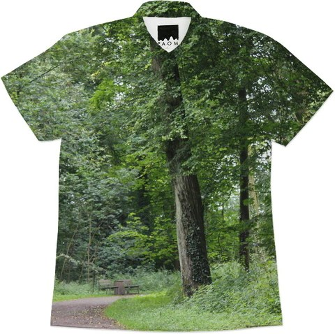 Lush Green Forest Shirt by stine1 on Printalloverme