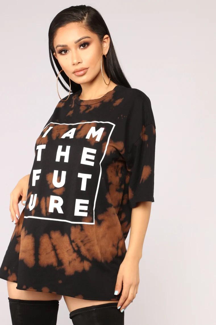 I Am The Future Tee - Black/Combo 2