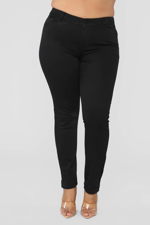 Skinny Uniform Pants - Black