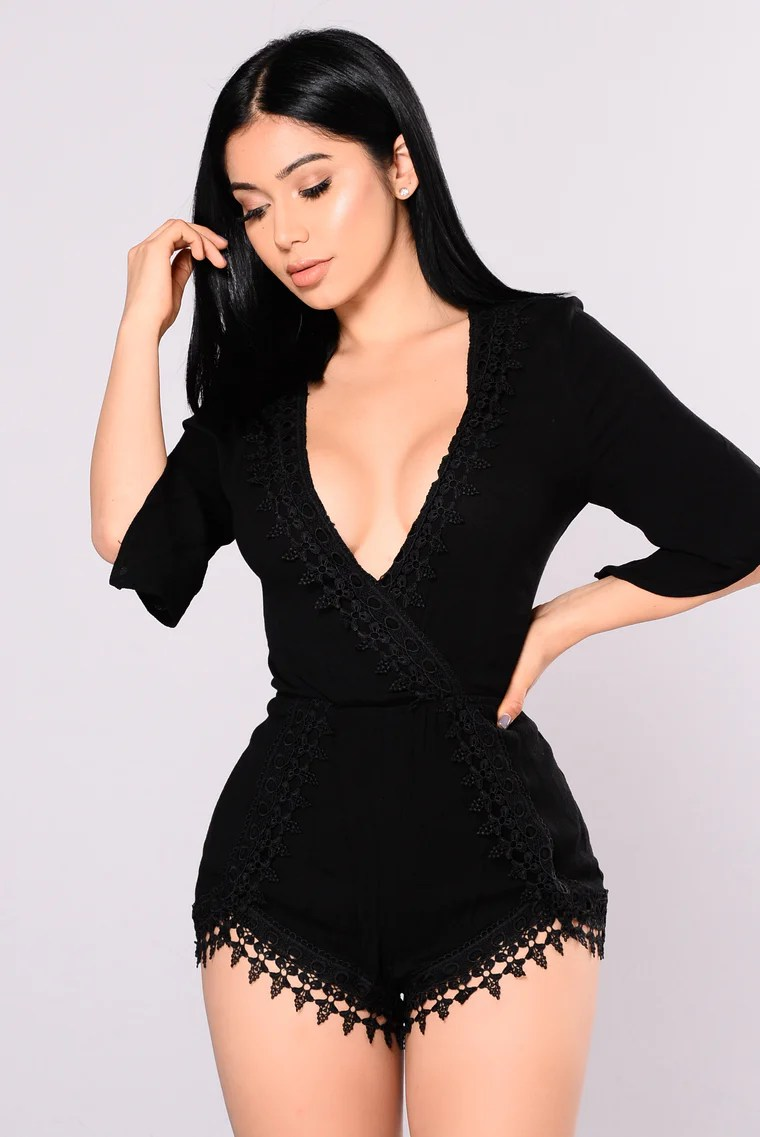 Selfless Romper - Black 4