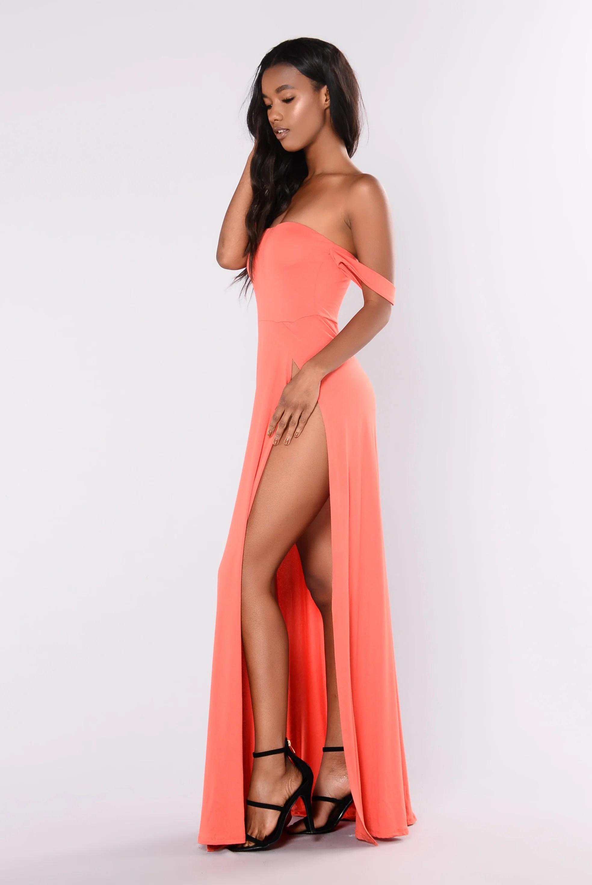 Kehlani Dress - Coral