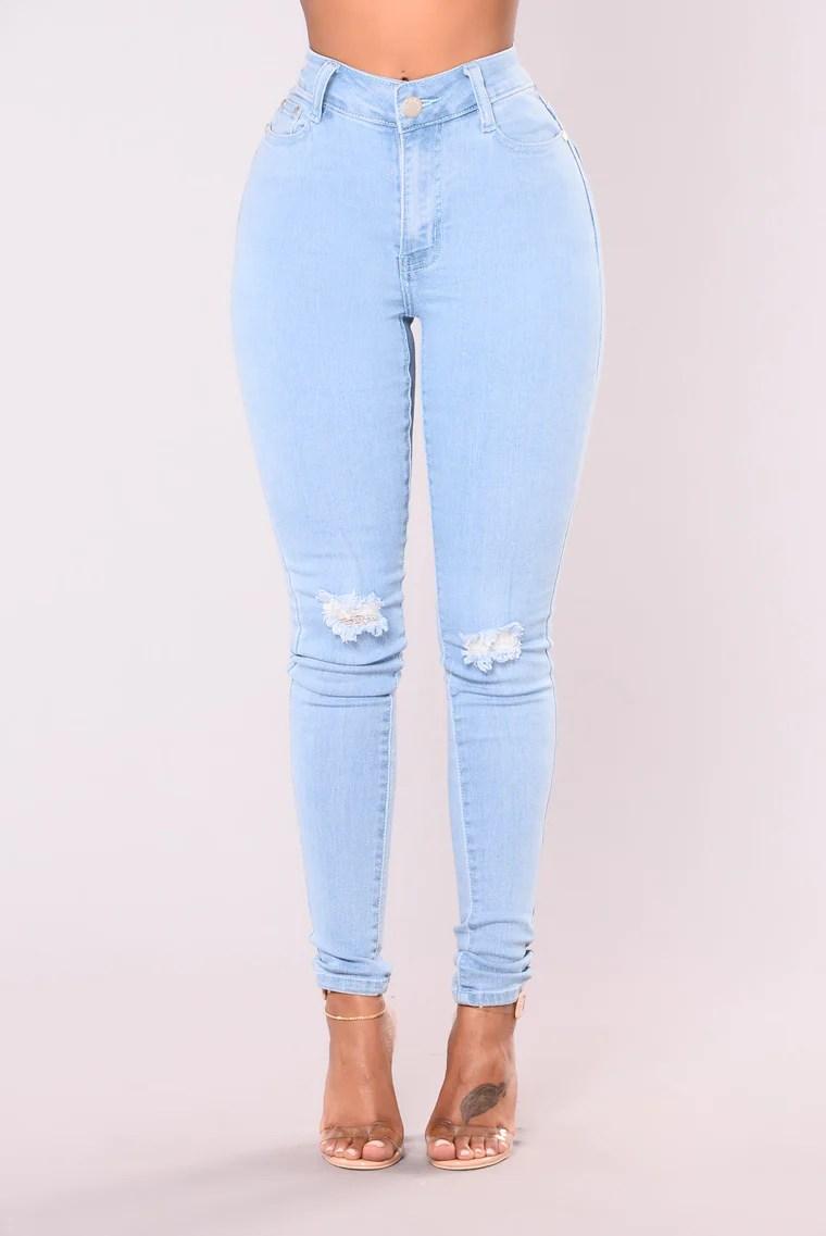 Do My Dance High Waist Jeans - Light 2