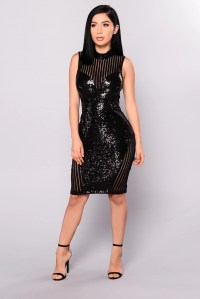 Girl On Top Sequin Dress