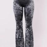 Karlianna Velvet Pants Navy Pants Fashion Nova