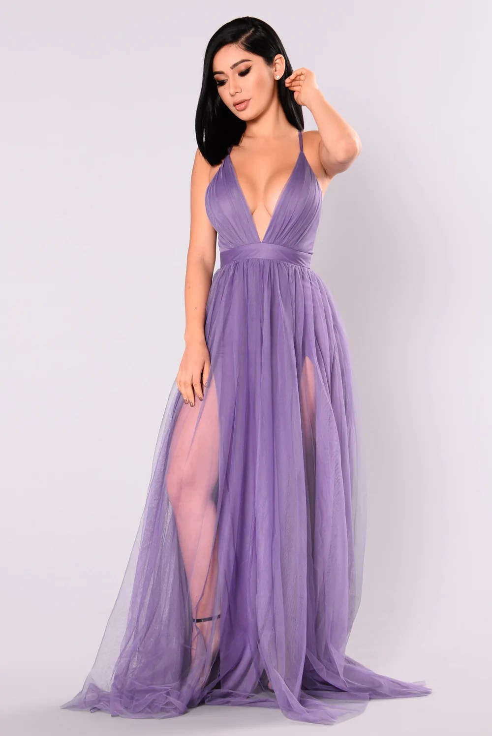 Purple Maxi Dress On the Runway Fashion Nova