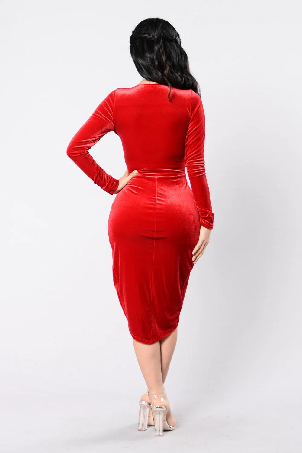 Dance Dress - Red
