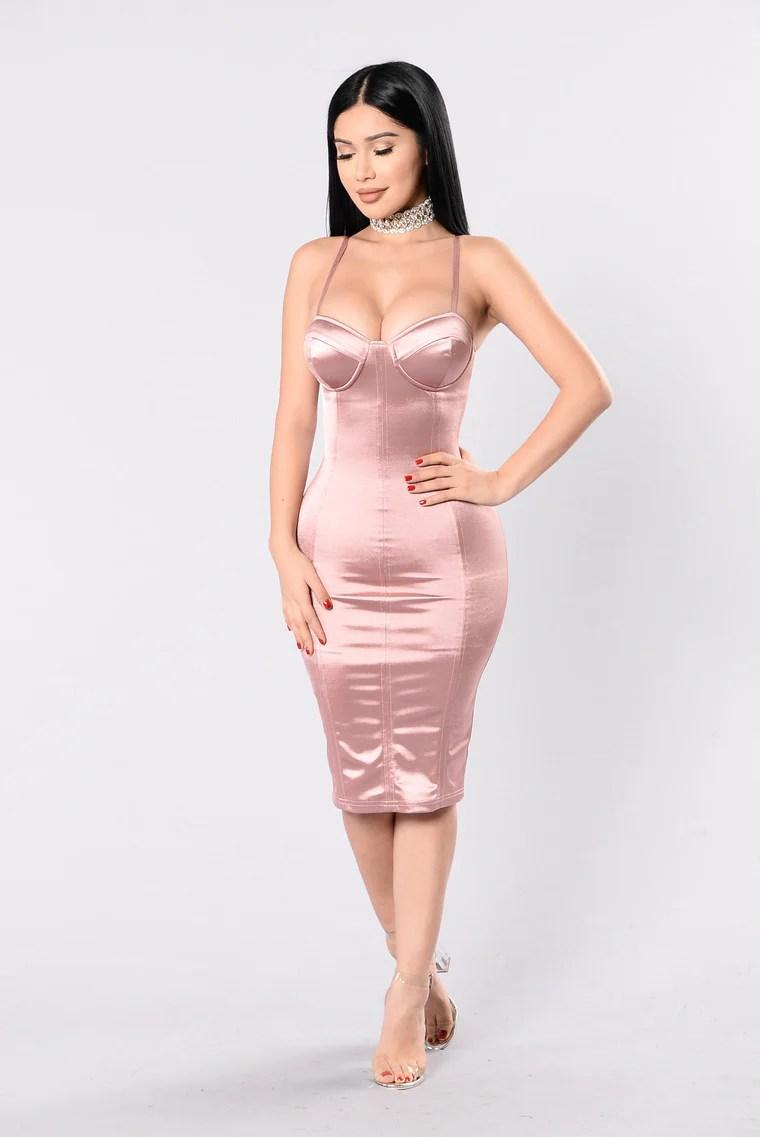 Stupid In Love Dress - Mauve 4