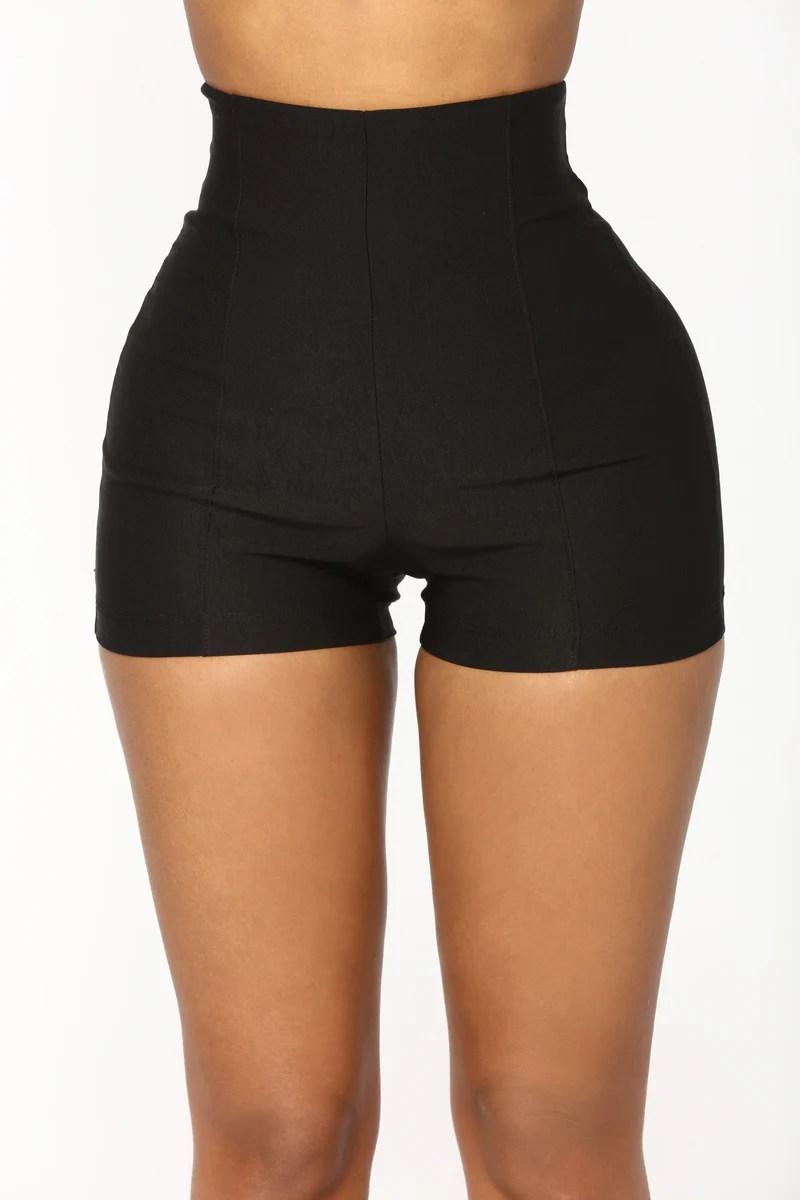 Womens Shorts Booty Denim High Waisted Sports
