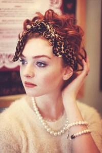 Leopard Hair Scarf, Leopard Print Headband, Leopard Scarf ...