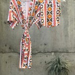 Tribalizetric Print Maternity Robe And Swaddle Set Boy Mommy And Me R Comfymommyshop In