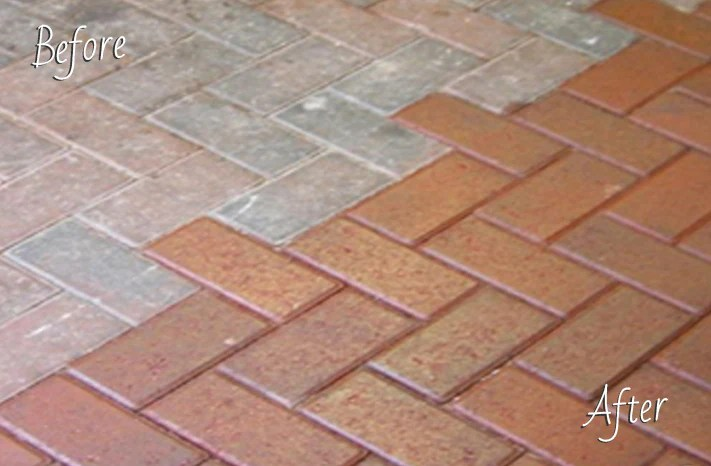 Keep your driveway patio or concrete paths looking as