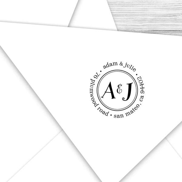 round return address stamp