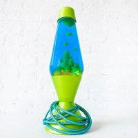 20% SALE Druhhhgz Metallic Lime Green Lava Lamp