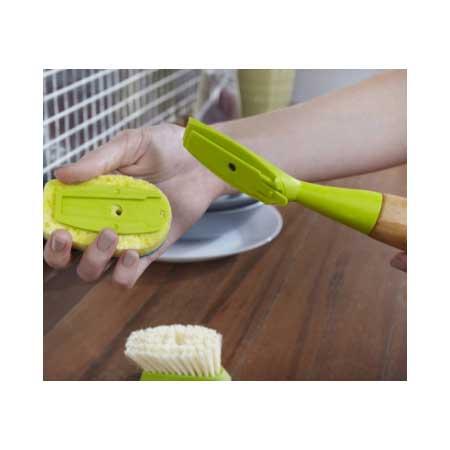 full circle kitchen brush buffet ikea soap dispensing dish sponge suds up hello green