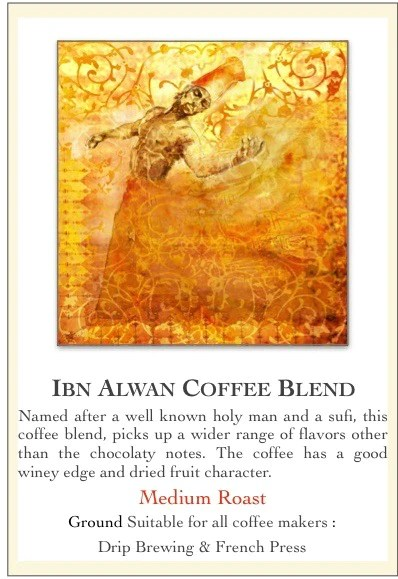 ground coffee ibn alwan blend 1000g