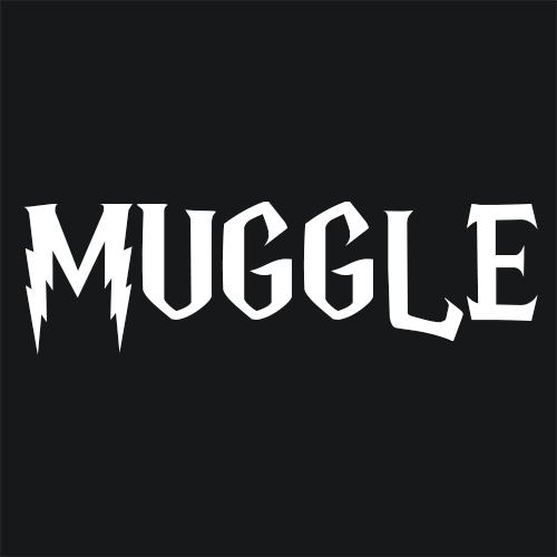 Muggle Funny Potter Inspired T Shirt Textual Tees