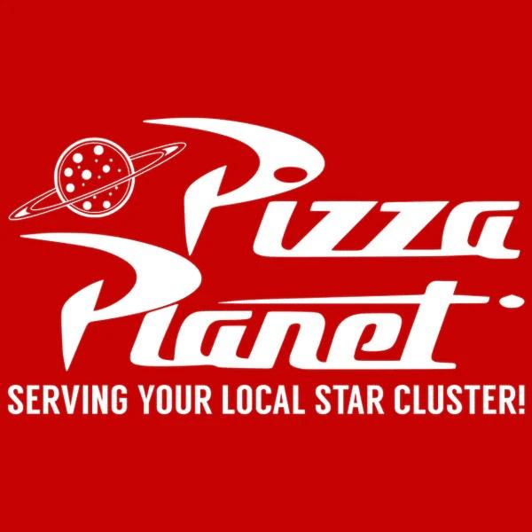 Pizza Planet T Shirt Textual Tees