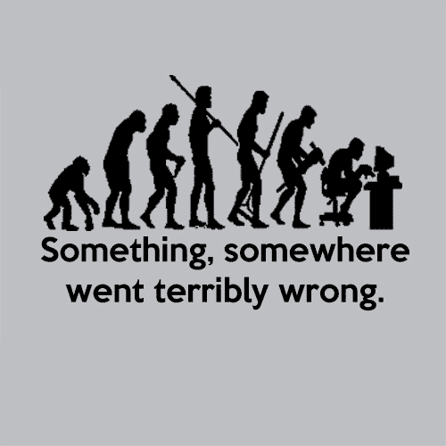 Something Somewhere Went Terribly Wrong T Shirt Apparel