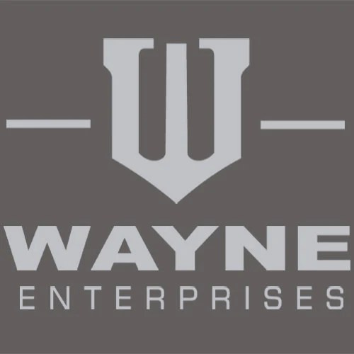 Wayne Enterprises T Shirt Funny Apparel Textual Tees