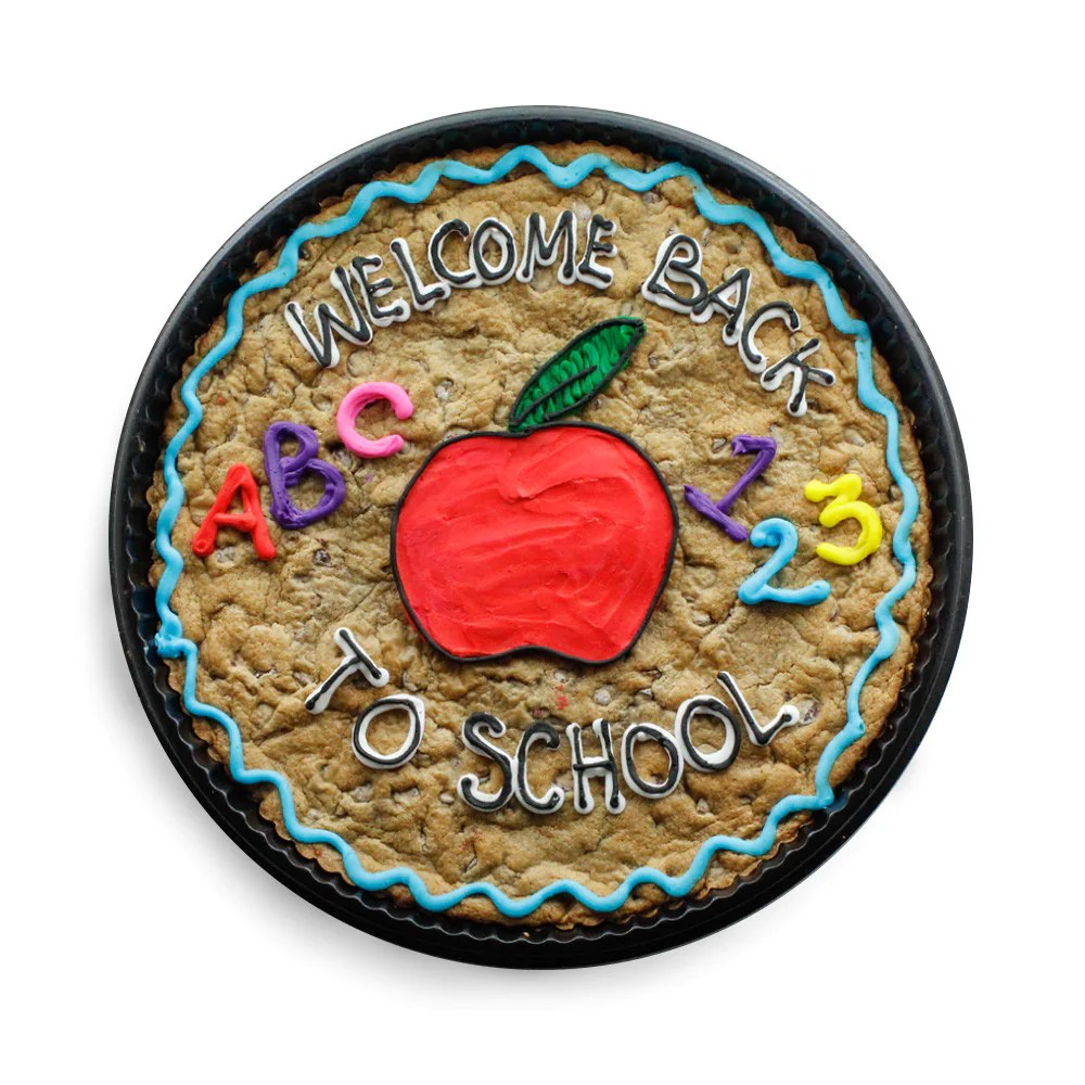 Back To School Cookie Cake – The Great Cookie