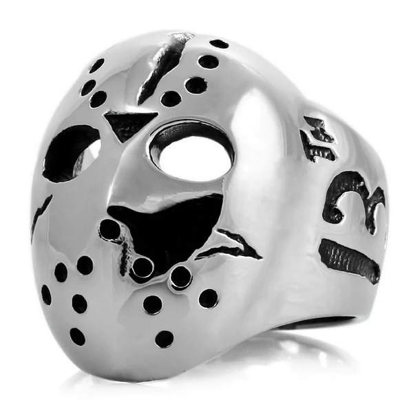 Jason Mask Friday The 13th Halloween Stainless Steel