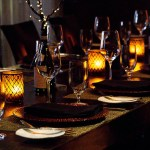 The Amazing Flameless Candle Restaurant And Hospitality Candles