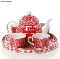 Chinese Wedding Tea Set Tea Ceremony  YannyExpress