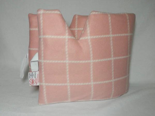 top mastectomy pillow after surgery comfort pillow seatbelt pillow heart surgery pillow top surgery pillow support pillow peachy pink plaid