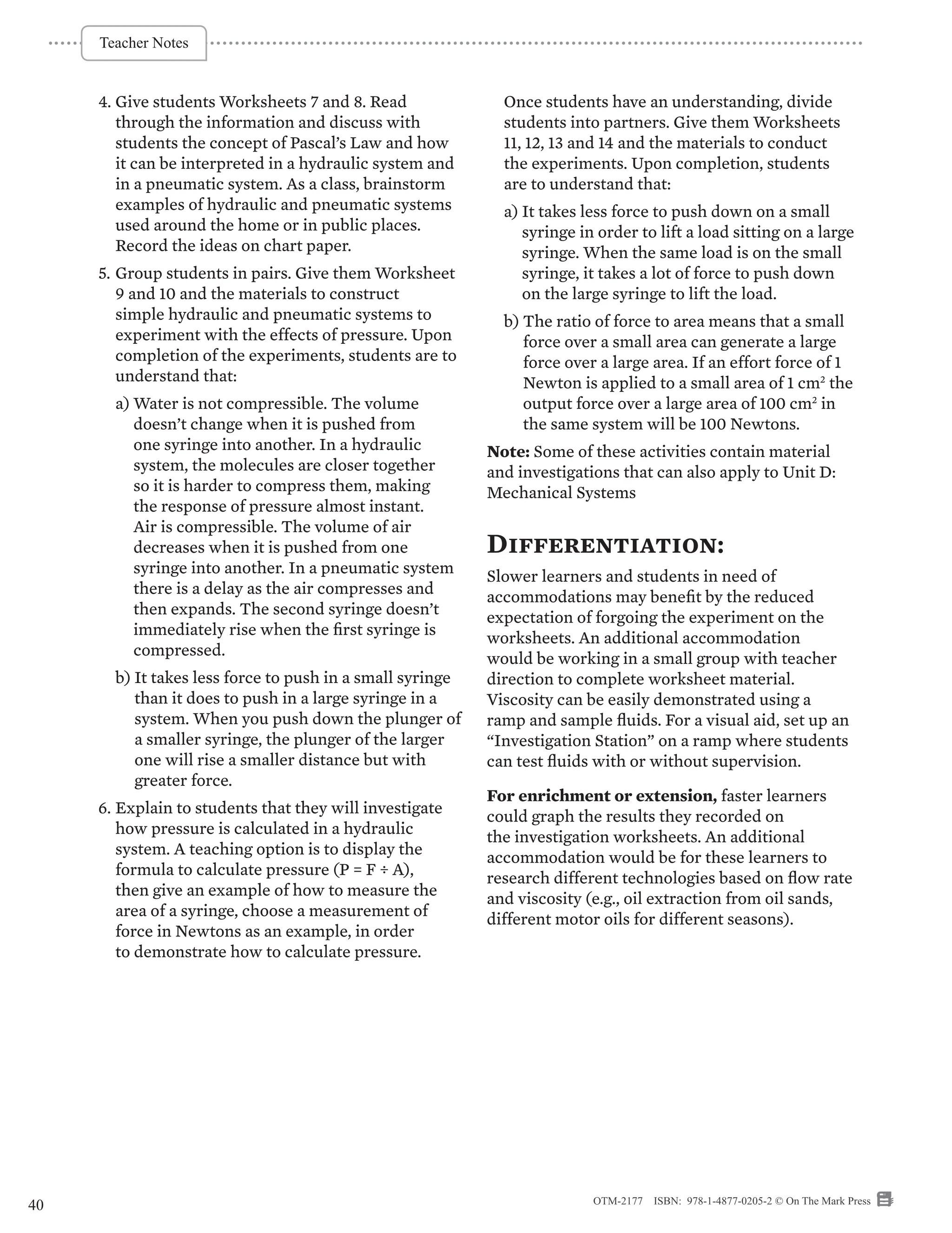 hight resolution of Alberta Grade 8 Science Curriculum - On The Mark Press
