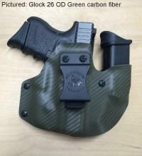 Wolf Pack, AIWB Kydex pistol/mag holder. | Wolf Hollow ...