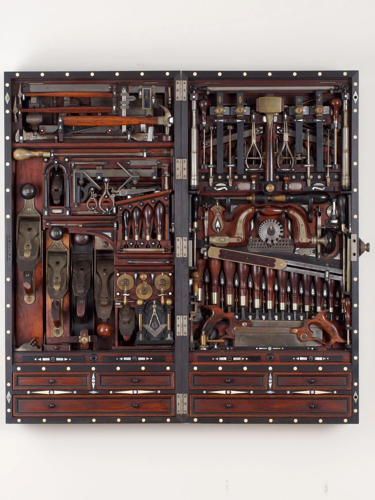 Virtuoso The Tool Cabinet and Workbench of Henry O
