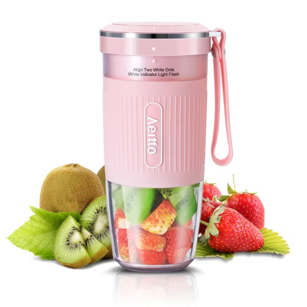 Aeitto Portable Blender, Cordless Personal Blender Juicer Cup