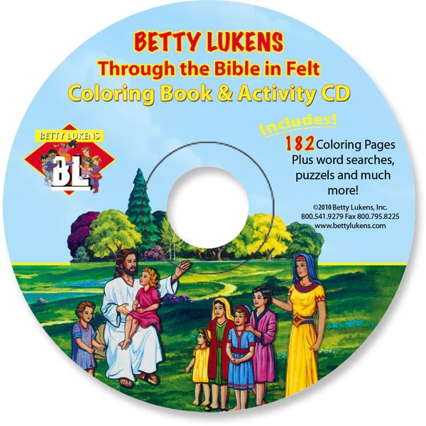betty lukens  learning fun  felt — coloring pages
