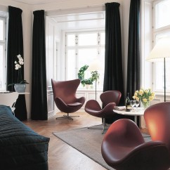 Jacobsen Egg Chair Leather Folding Gif Imgur Arne Couch Potato Company And Swan Chairs Chocolate