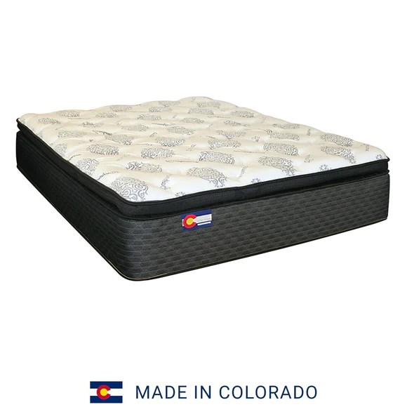 back care estes latex pillow top mile high mattress