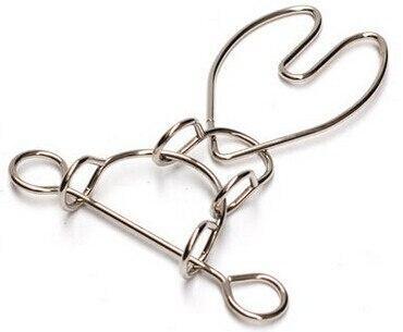 casse tete metal fil de fer coeur