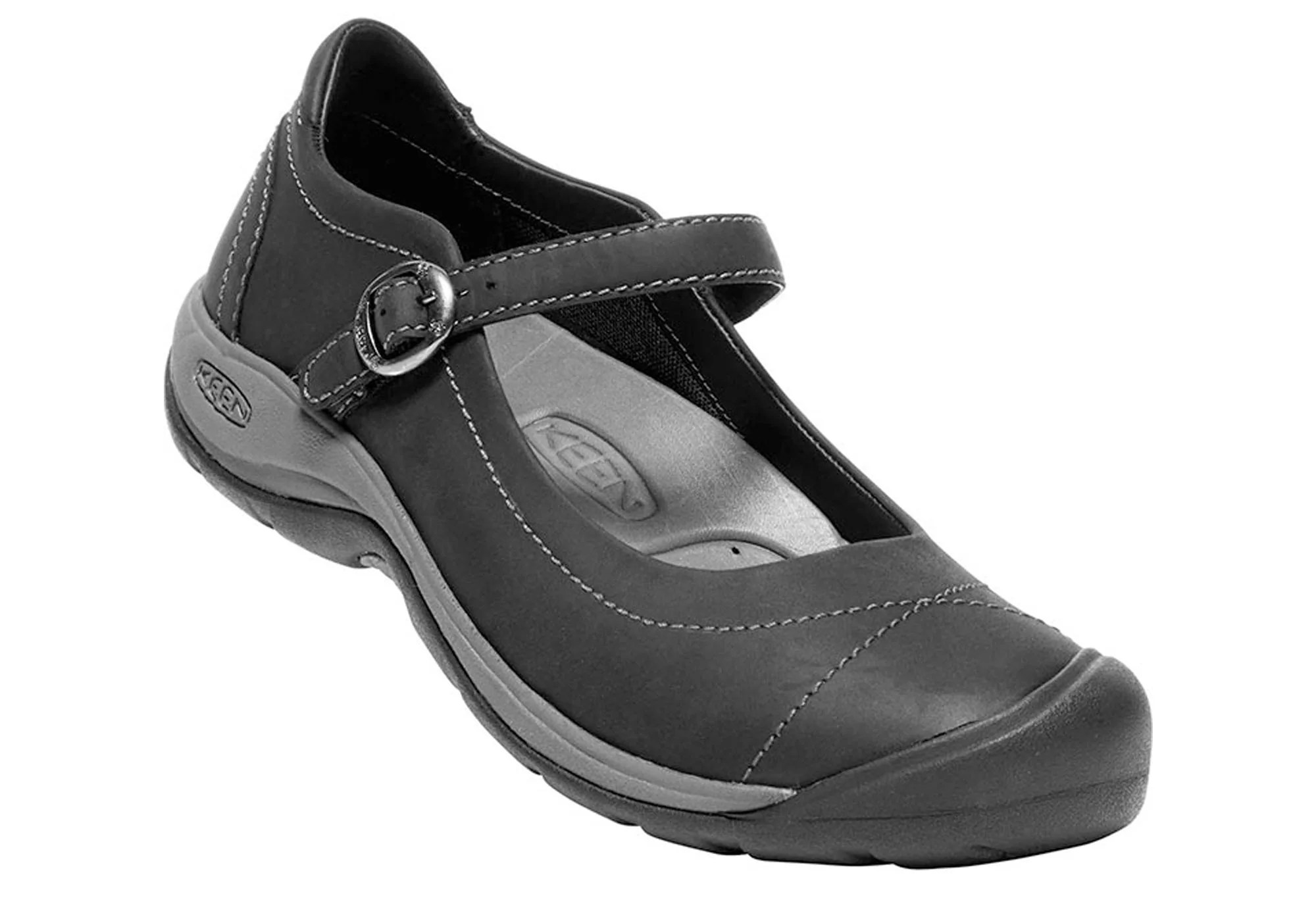 Keen Presidio Ii Mj Womens Leather Comfort Mary Jane Shoes
