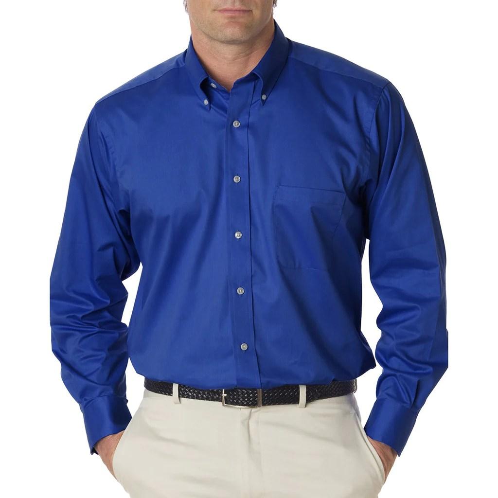d0684309fe0fe Royal Blue Plain Dress Shirt · Van Heusen Long Sleeve Dress Shirts