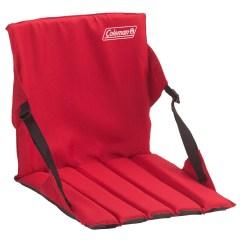 Coleman Chair Accessories Caravan Sports Suspension Folding Xl Red Stadium Seat