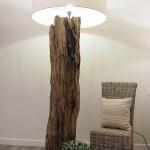 Rustic Wooden Tree Trunk Floor Lamp Kenyon Tall Rustic House Cornwall