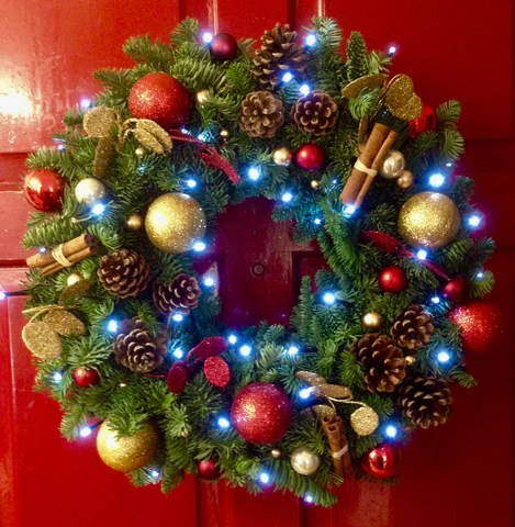 fresh christmas wreaths the