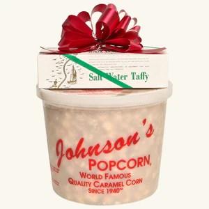 Johnson's Popcorn & Shrivers Combo