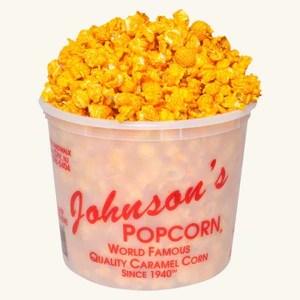 Johnson's Popcorn Large Cheddar Cheese Tub