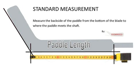 also how to measure goalie stick paddle height hockeystickman rh