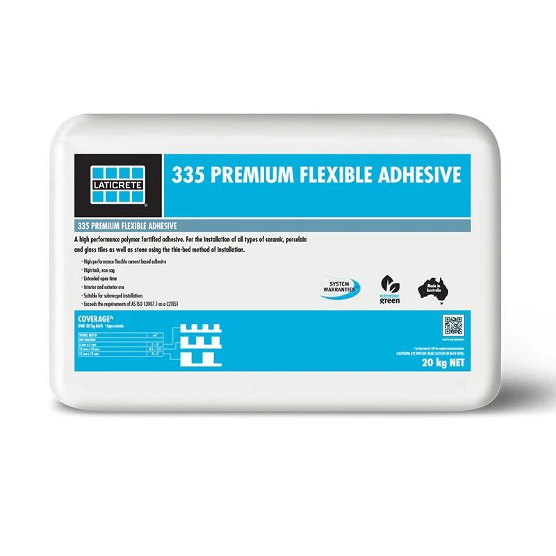 laticrete 335 premium flexible adhesive