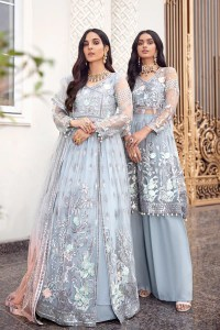 Emaan Adeel BR-10 ICE QUEEN Belle Robe Wedding Edition